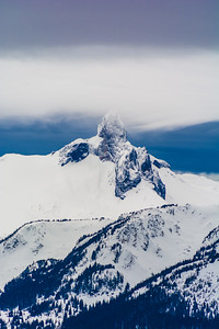BlackTusk view from Whistler Mountain, Jan 2014