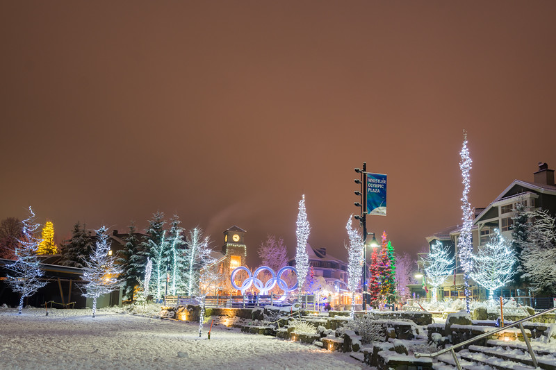 Whistler Olympic Plaza