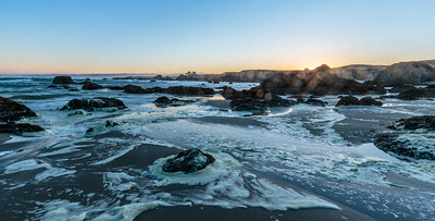 Sunrise, Ft Bragg, California, 2015