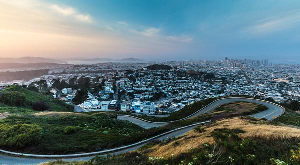 Twin Peaks, San Francisco, California, 2015