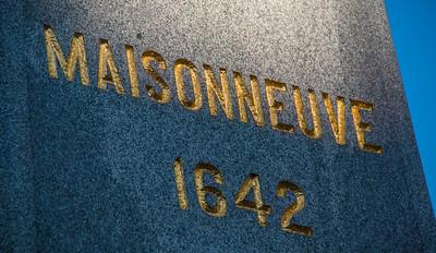 Statue of Maisonneuve