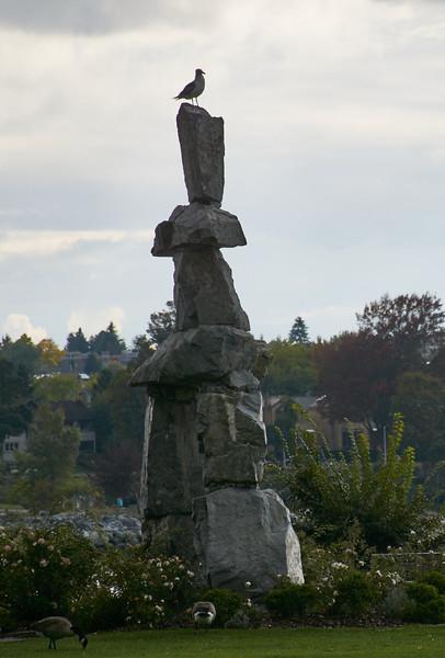 The Vancouver Inukshuk