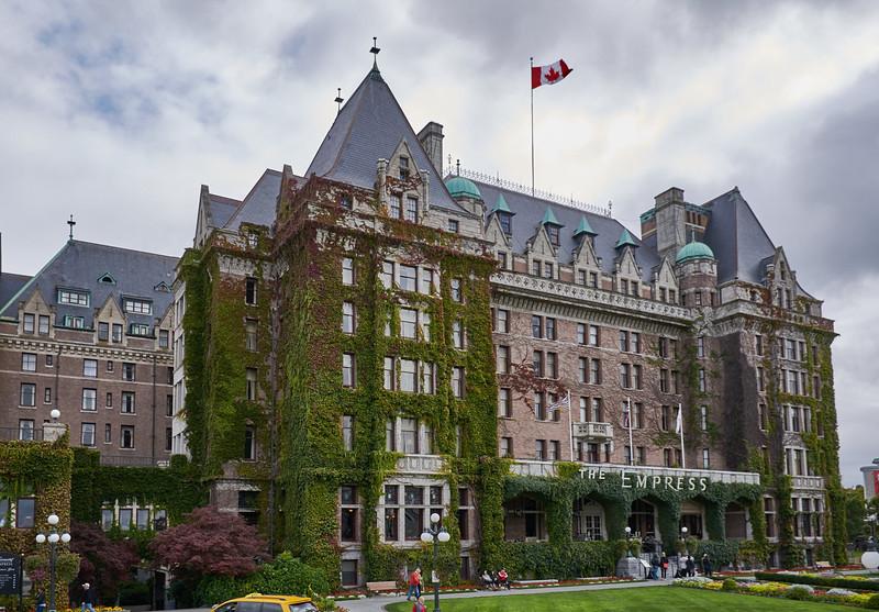 The Empress (Fairmont) Hotel, Victoria - built in 1908