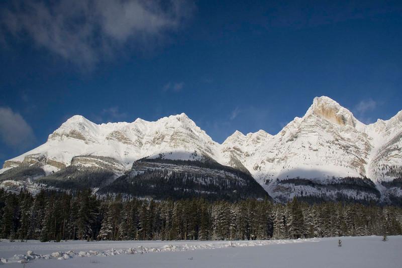 Mount Wilson, Banff National Park, Alberta