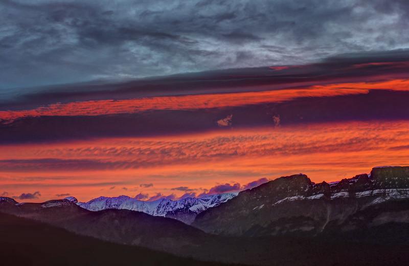 Sunrise layers No.1