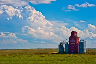 Elevator- Cadillac, Saskatchewan, Canada