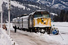 Train in Sidings, Jasper