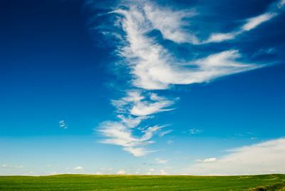 Wispy Clouds- Saskatchewan, Canada