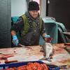 Deheading the salmon