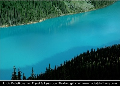 Canada - Unforgettable & Rugged Beauty of The Canadian Rockies - Canadian segment of the North American Rocky Mountains range