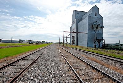 Oxbow Grain Elevator- Saskatchewan, Canada
