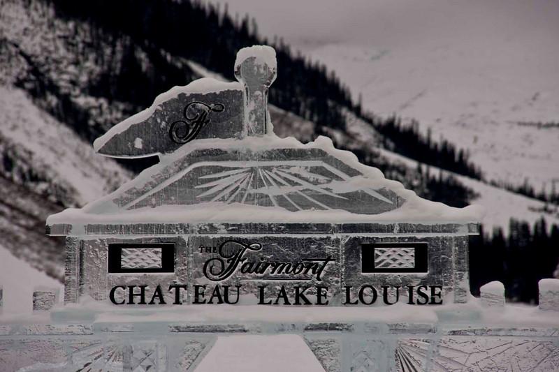 Ice Castle - Chateau Lake Louise
