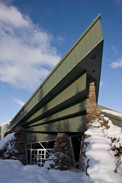 National Park Information Centre, Lake Louise Village