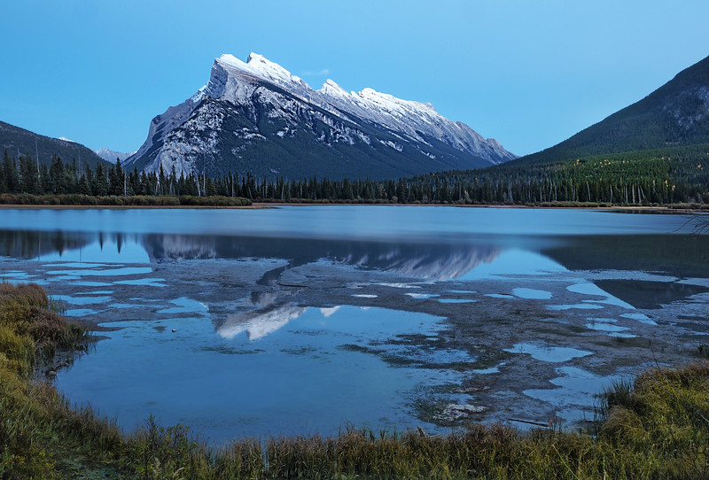 Blue Hour at Mt Rundle