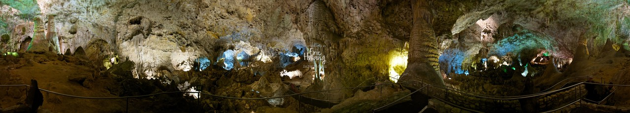 360° panorama inside Carlsbad Caverns, New Mexico, USA. Here's the QTVR version (11.1Mb)