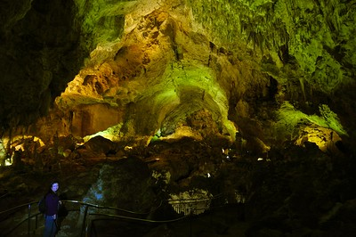 View of one of the caverns
