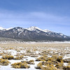 Blanca Peak of the Sangre de Cristo Range of southern Colorado.