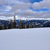 View from Wolf Creek Ski Area, Colorado.