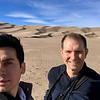 Ian and Wayne at Great Sand Dunes National Park and Preserve, southern Colorado.