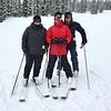 Tara, Ian, and Wayne at Wolf Creek Ski area.