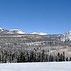 Panorama from Purgatory Ski Resort, Colorado.