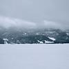 Snowy view from Wolf Creek Ski Area, Colorado.