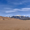 Great Sand Dunes National Park and Preserve and Mount Herard, southern Colorado.