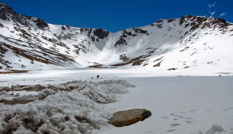 Summit Lake, Mount Evans.