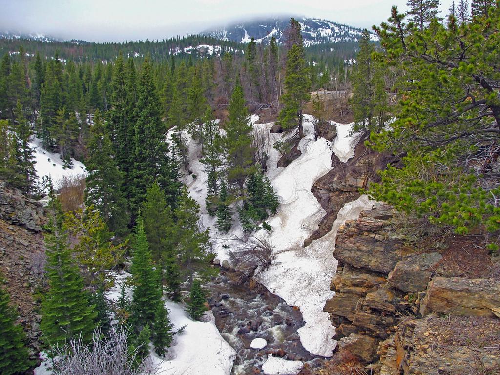 Glacier Creek, Rocky Mountain National Park.