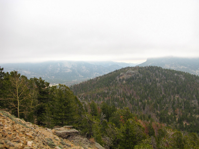 View from Many Parks Curve on Trail Ridge Road.