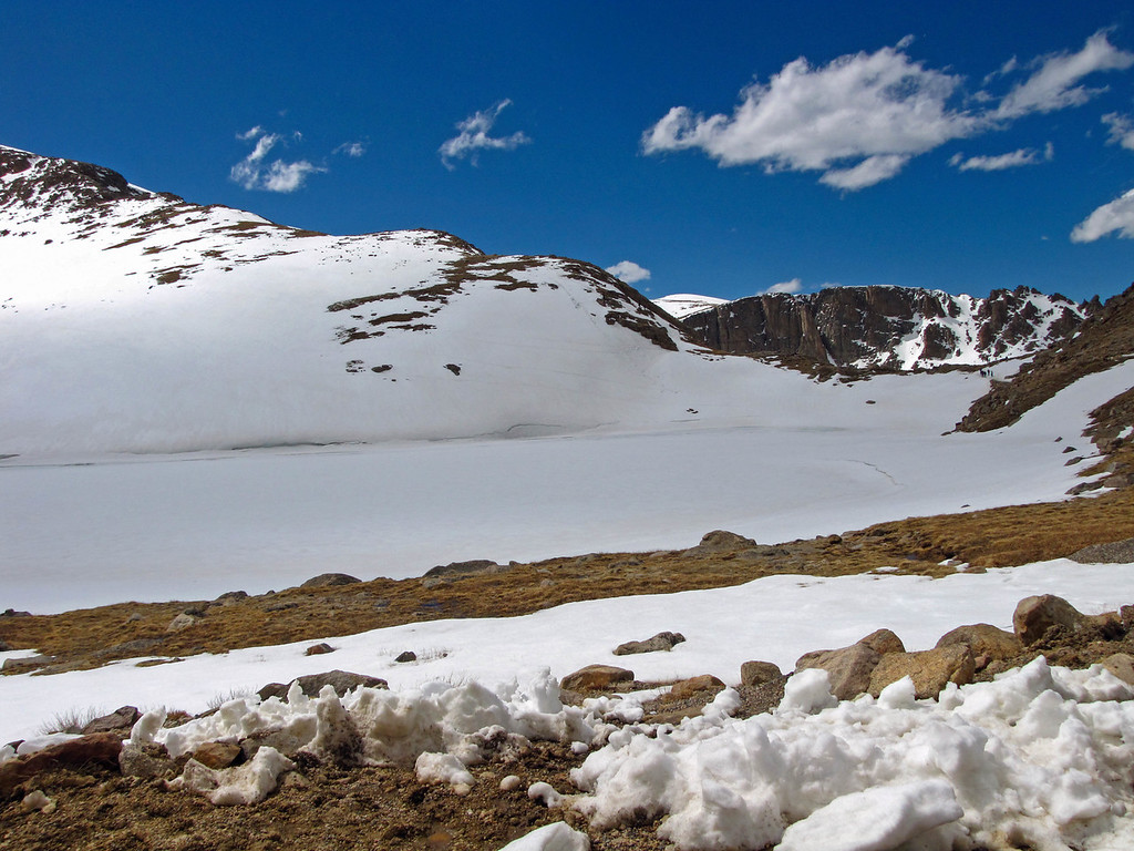 Summit Lake, Mount Evans.