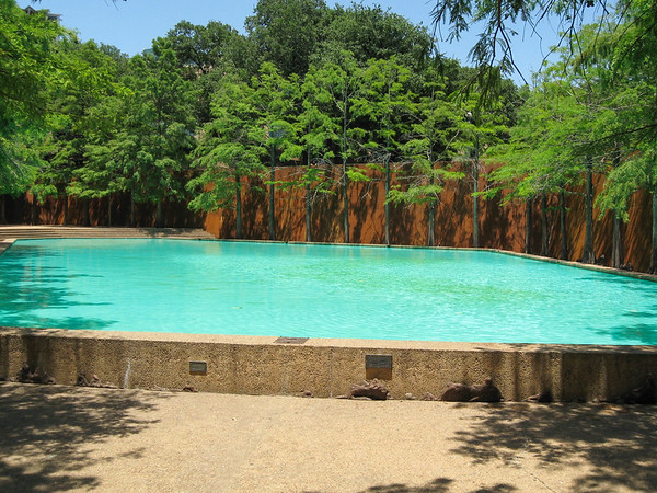 Quiet Pool in the Fort Worth Water Gardens