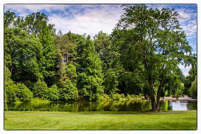 Idyllic Pond,  Longwood Gardens, PA, 2007