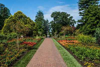Colorful Path,  Longwood Gardens, PA, 2007
