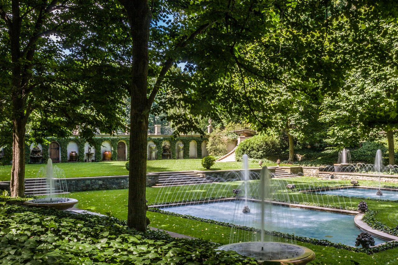 Hidden Fountains,  Longwood Gardens, PA, 2007