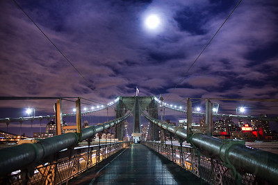 Brooklyn Bridge. New York City