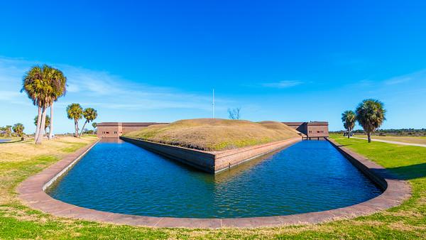 Fort Pulaski, Cockspur Island, Georgia, 2018