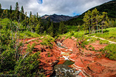 Red Rock Canyon IV, Waterton PP, Alberta, Canada, 2006