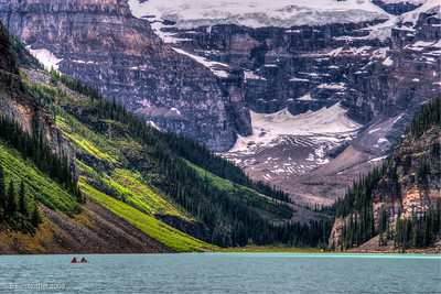 Canoing, Lake Louise, Banff NP, Alberta, Canada, 2006