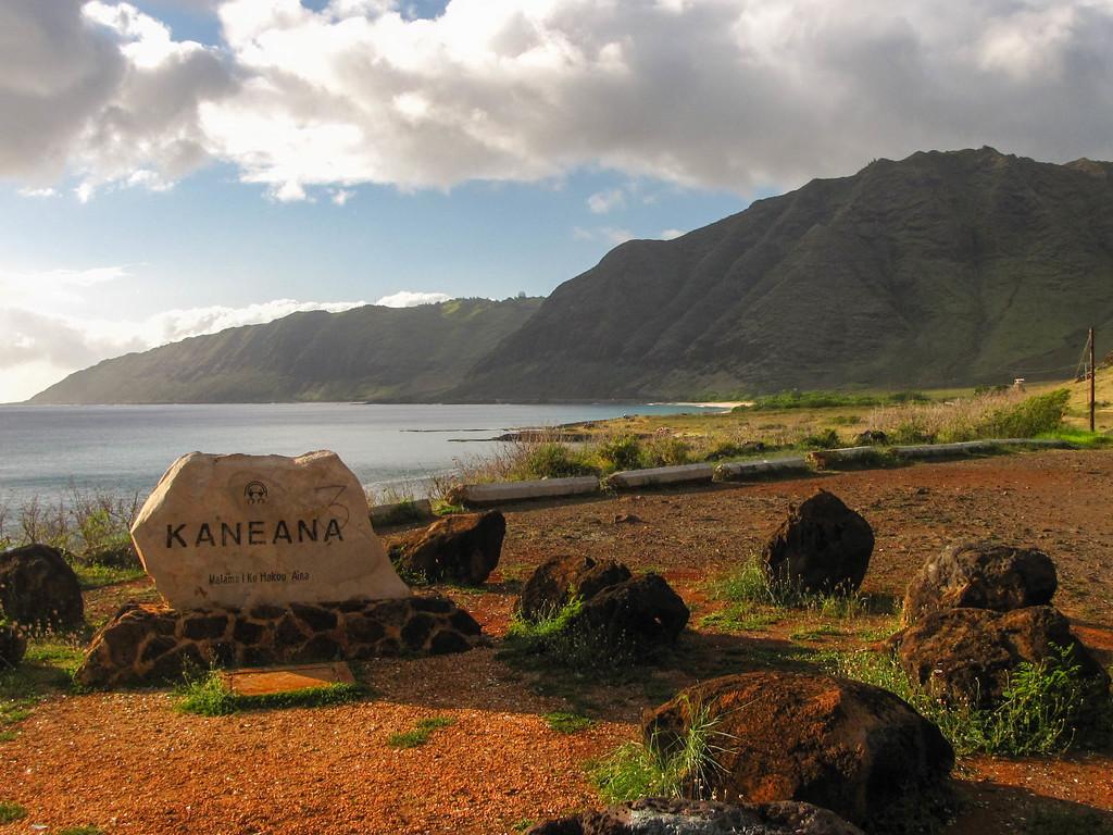 Kaneana Point.