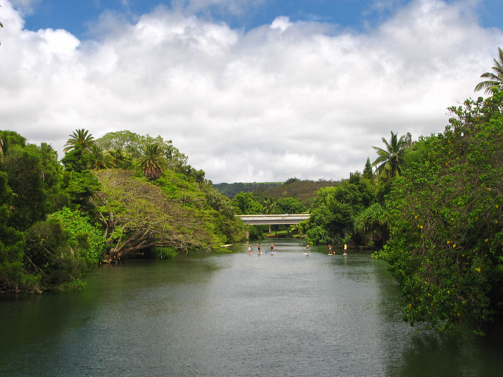 The Anahulu River.