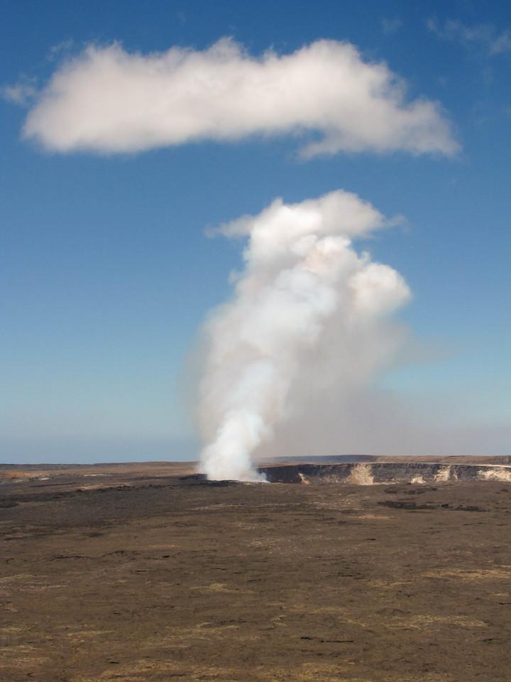 Kilauea Caldera, Hawaii Volcanoes National Park.