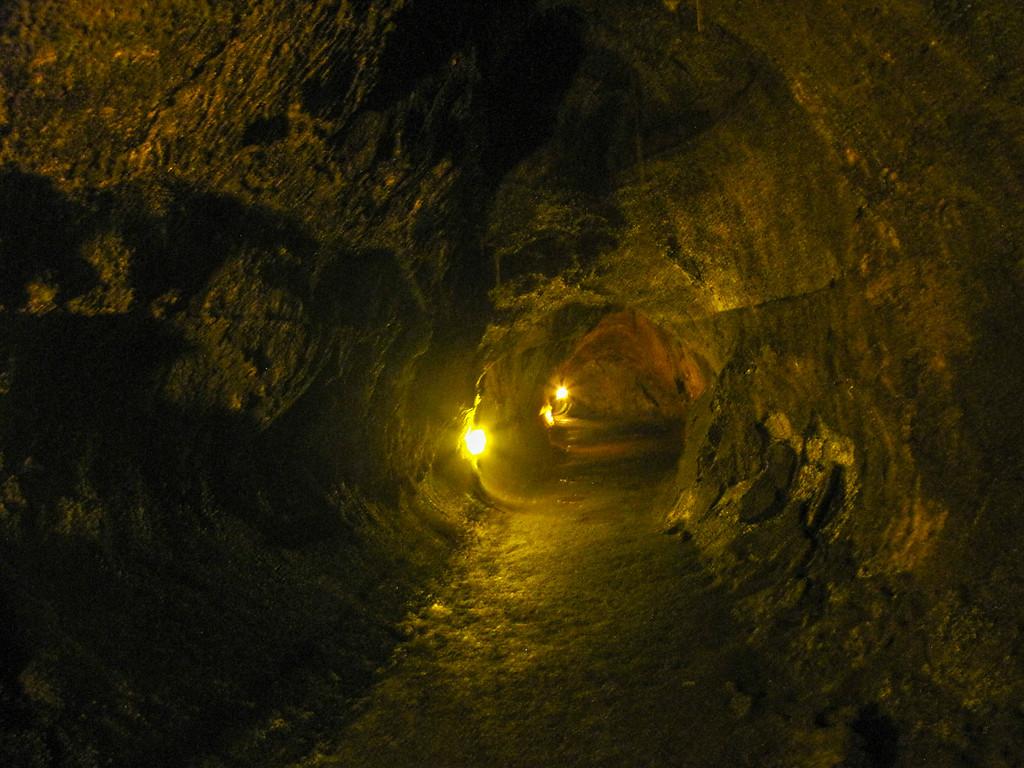 Thurston Lava Tube, Hawaii Volcanoes National Park.
