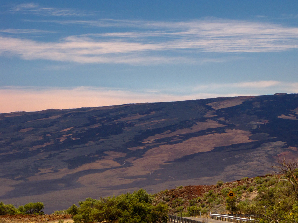 Mauna Kea and its visitors center.