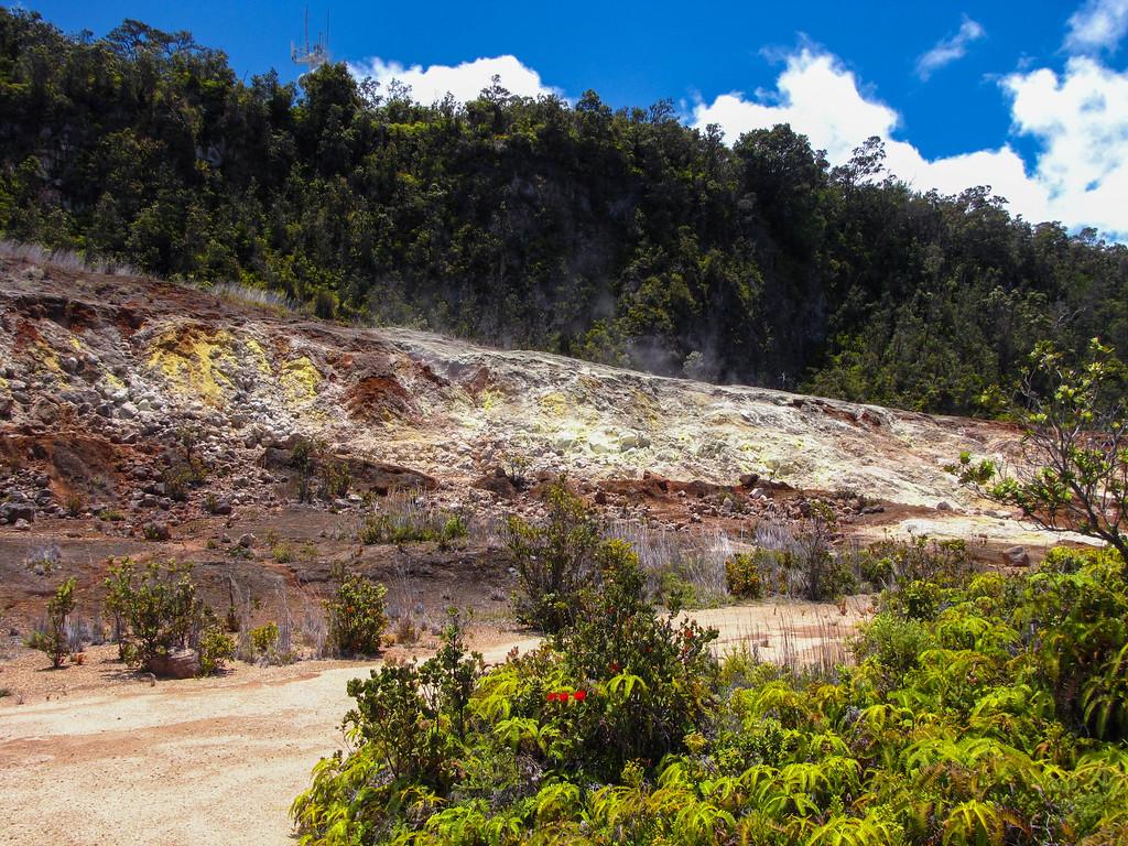 Sulphur Banks Trail, Hawaii Volcanoes National Park.