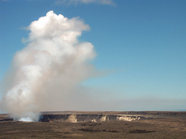 Kilauea Caldera, Hawaii Volcanoes National Park.