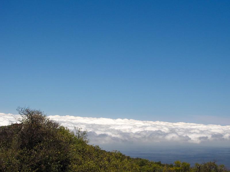 Mauna Kea and its visitors center.