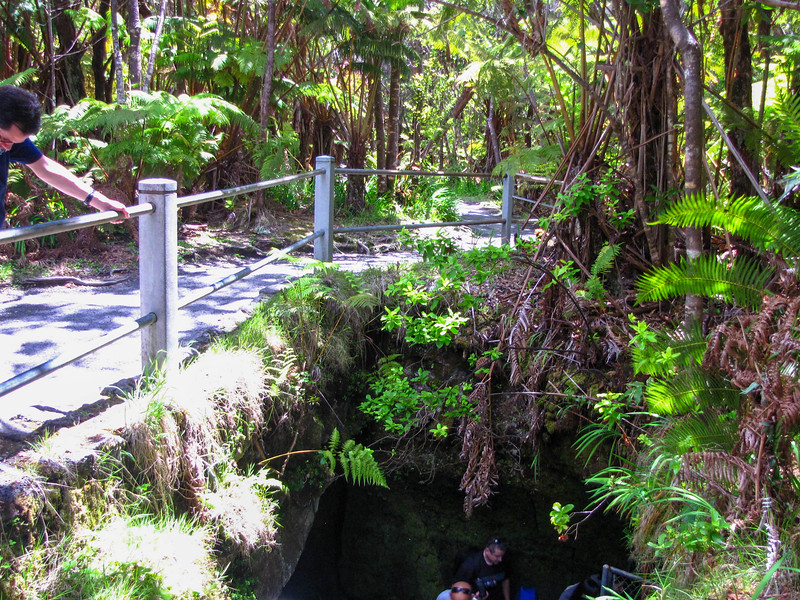 Thurston Lava Tube, Hawaii Volcanoes National Park.