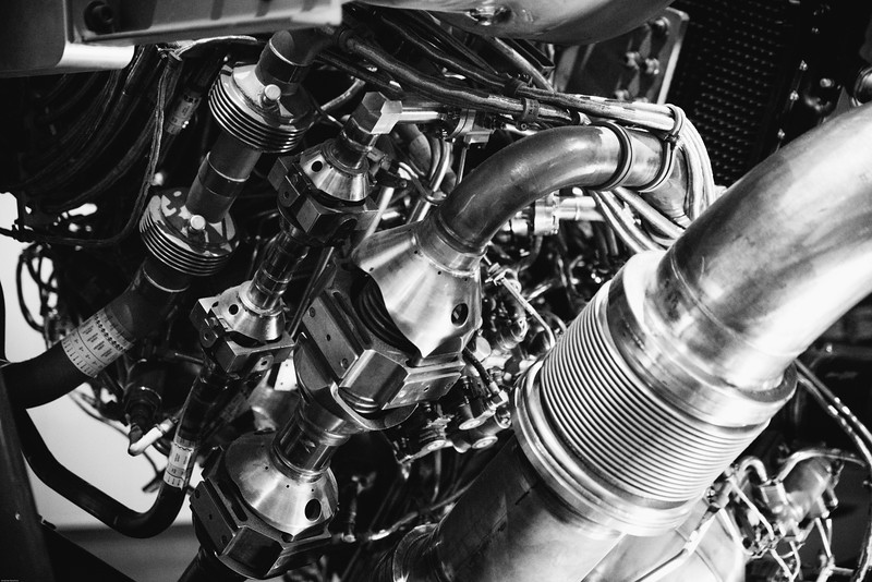 Main Engine Closeup