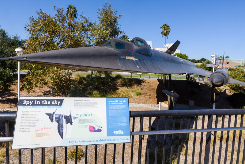 SR-71 at the California Science Center